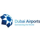 logo of Dubai airport